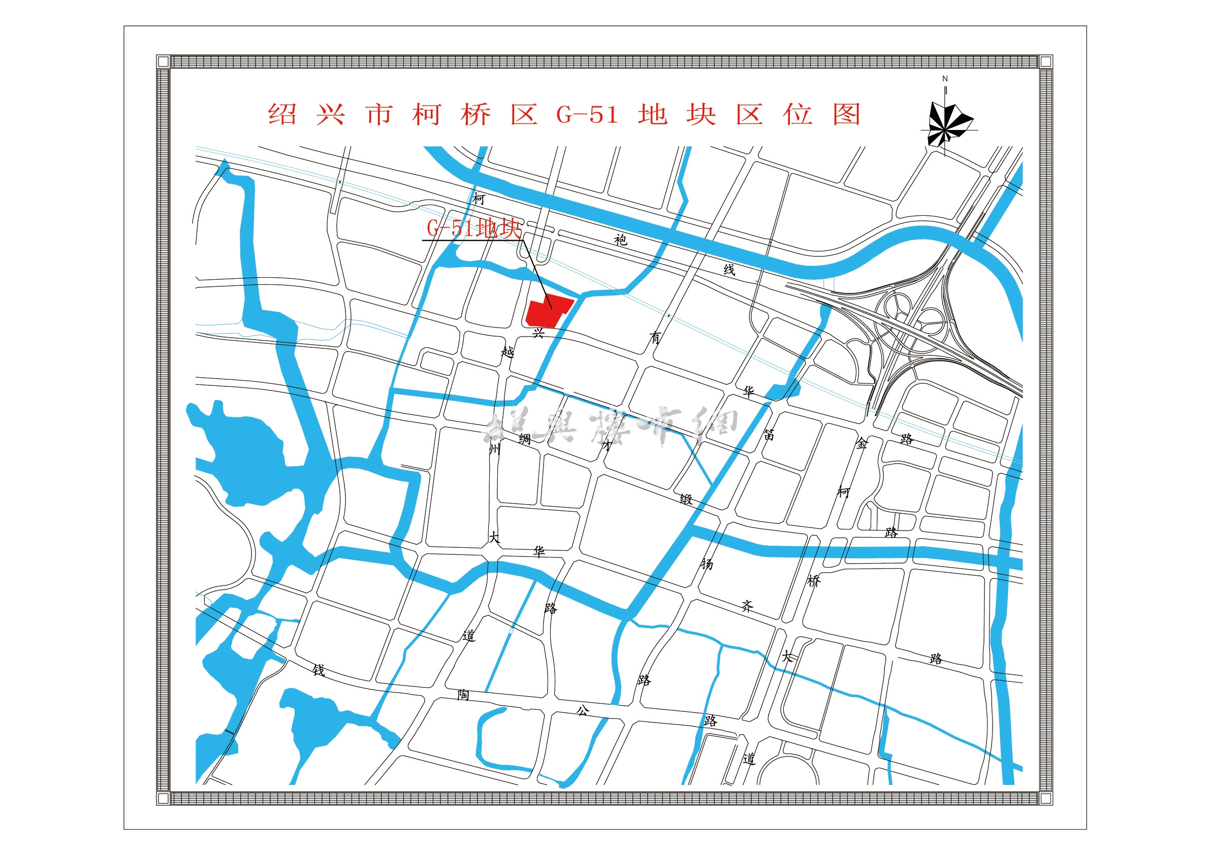 G-51地块区位图