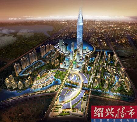 东临东湖生态风景区,南沿大城南居住板块,西靠绍兴市中心.