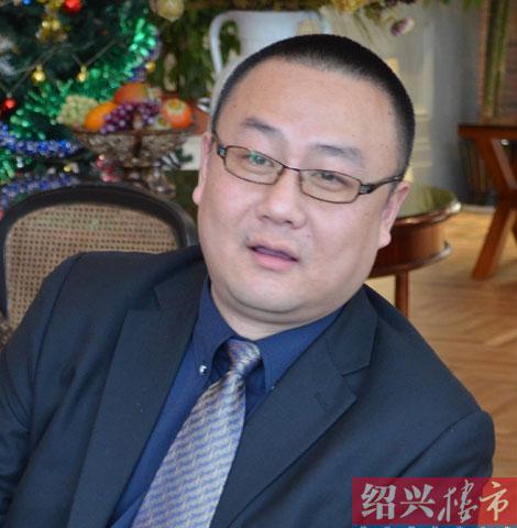 丽景华庭销售经理高峰先生