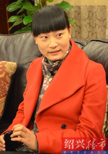 丽景华庭营销总监陈丽丽女士