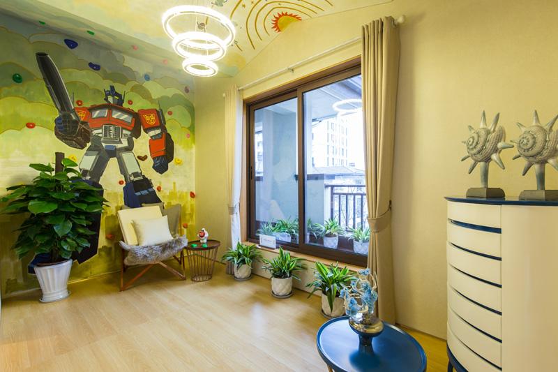 排屋265�OS2户型四层儿童房