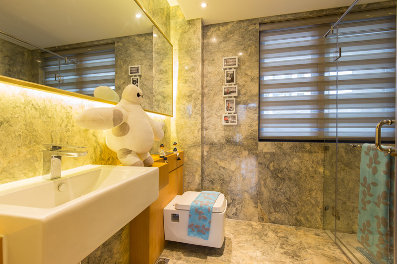 排屋265�OS2户型四层盥洗室