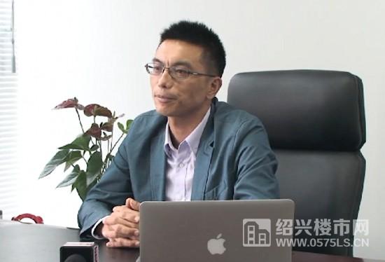 金地集团绍兴自在城项目总经理景子刚