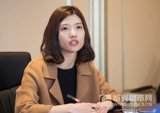探讨会主持人:绍兴楼市网副总经理 傅丽娜