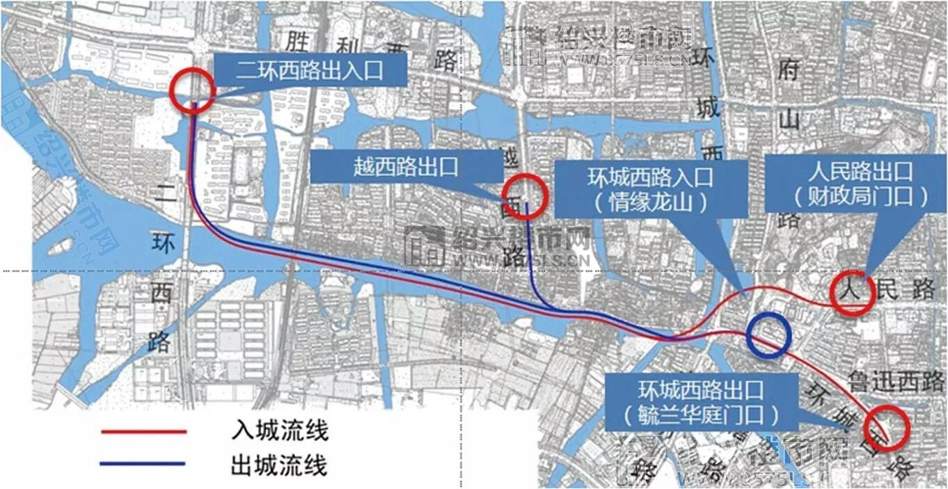 【首次曝光】城西「公建」鉴湖前街湖底隧道·规划(一