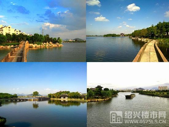 风景如画的青甸湖景致