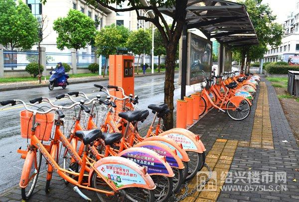 离项目约150米就有公共自行车站点