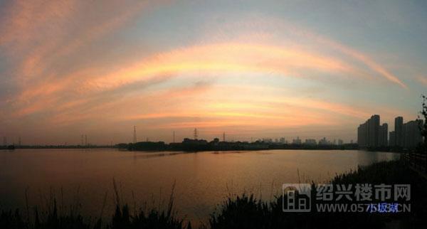 小坂湖风景
