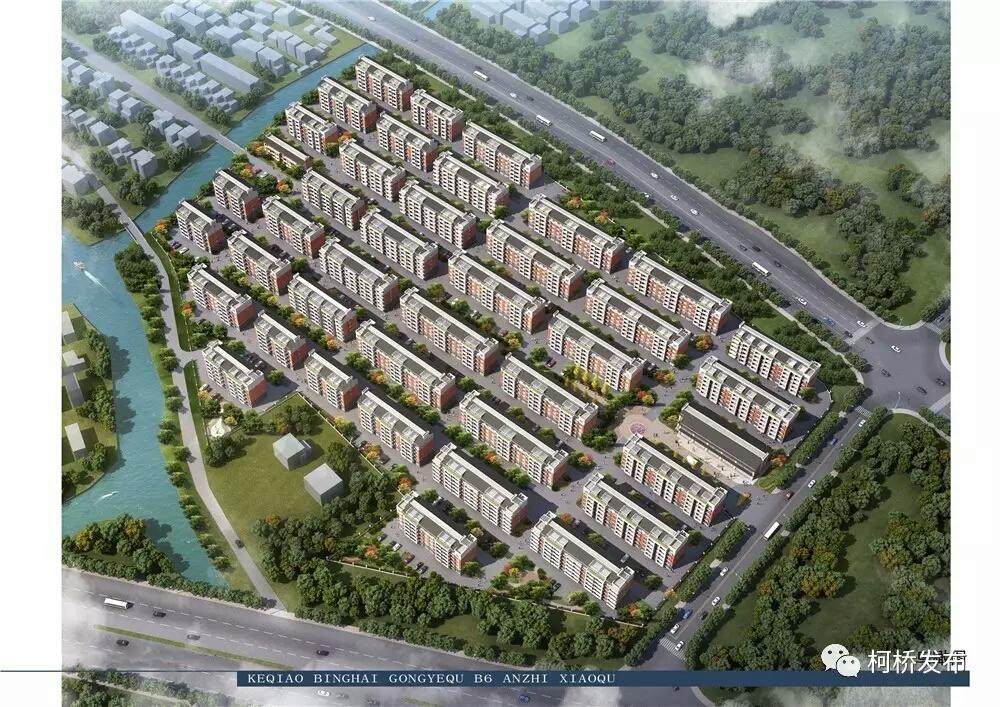 滨海工业区b6安置小区·具体建设数据及规划