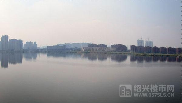 大坂湖風景