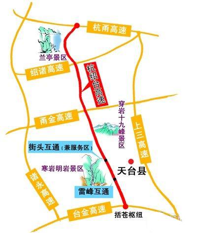 杭绍台高速规划