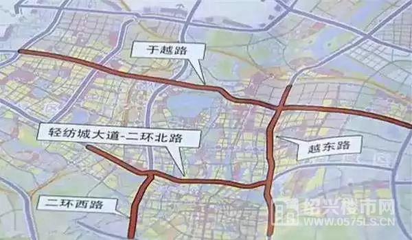二环西路高架规划(图片来自网络)