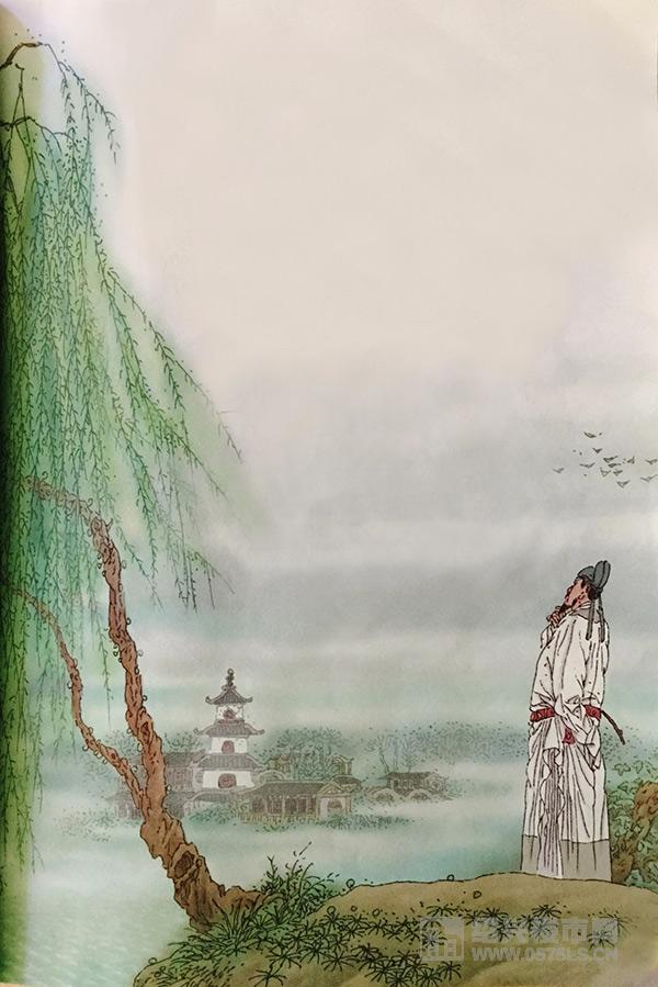 图片来源自小学语文-咏柳