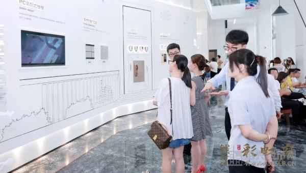 ◎钱江・彩虹府示范区实景图