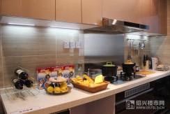 样板房建面约131�O:厨房