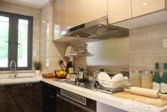 样板房建面约135�O:厨房