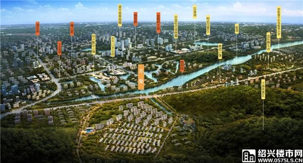 ▲新城・棠樾区位图