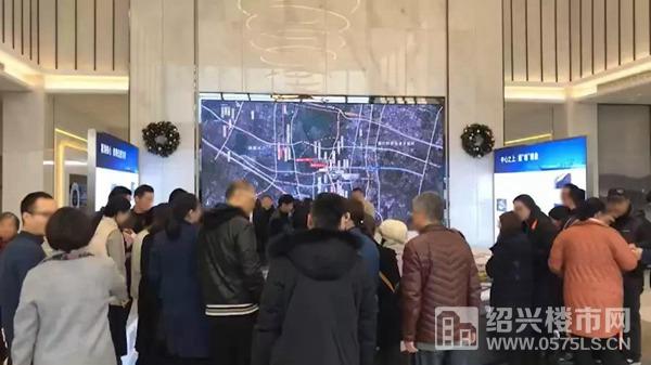 绍兴壹号院现场图
