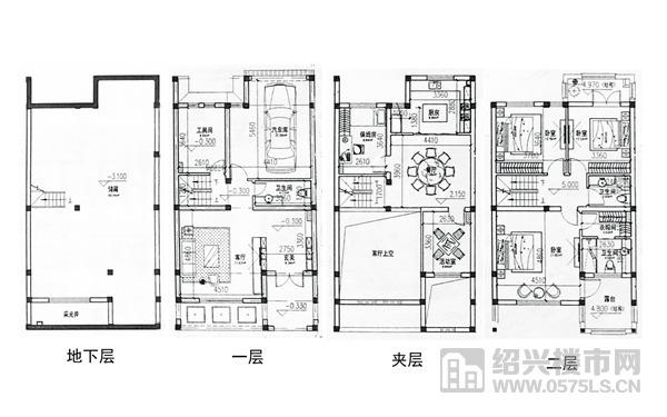 建面约297�O户型图(17#楼装修改造建议)