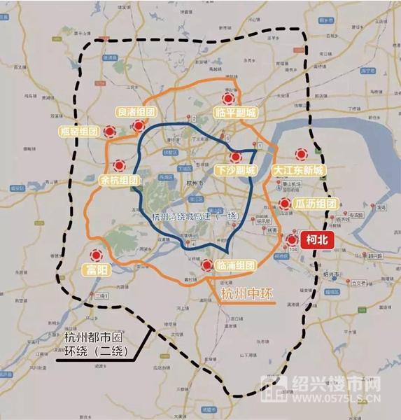杭州都市圈   图片来源于网络