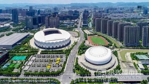 柯桥奥体 轻纺城体育中心   图片来源于网络