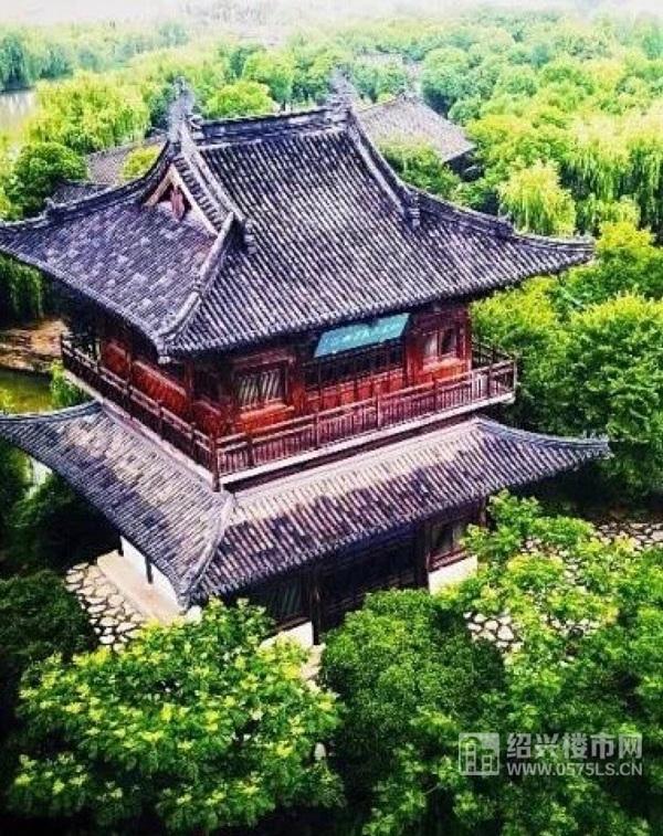 鉴湖/快阁公园 示意图