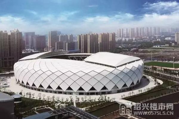 中国轻纺城体育中心体育馆 | 图片来源于网络