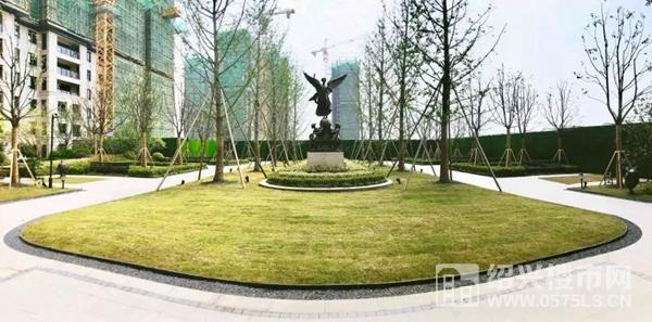 新城悅雋公館實景示范區