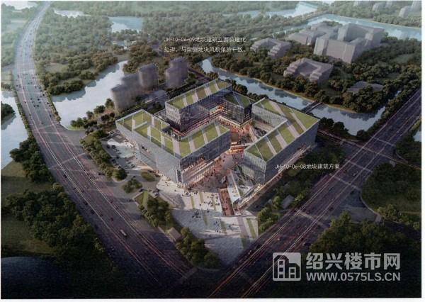 鏡湖核心區JH-10-06-08、09地塊建筑效果圖