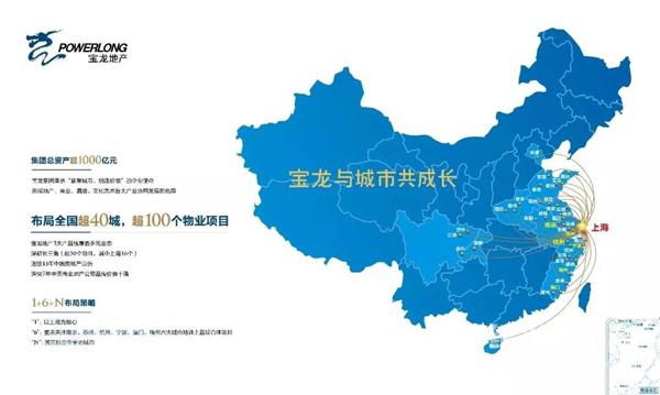 宝龙地产布局图