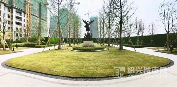 △新城悅雋公館示范區實景