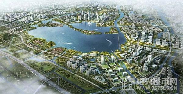 鏡湖新區規劃圖
