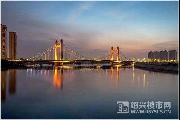 鏡湖大橋實景圖|圖源網絡