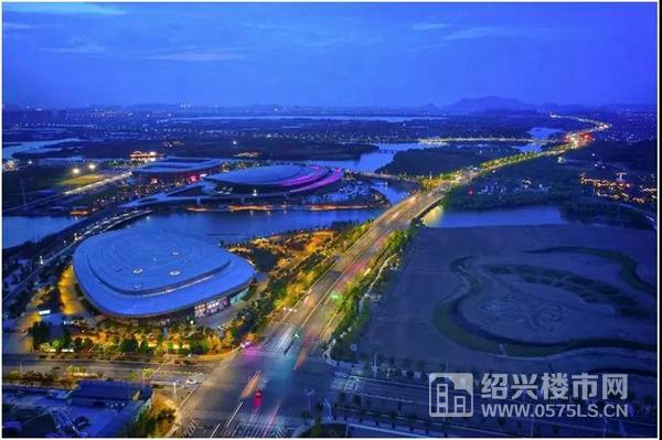 紹興奧體中心實景圖|攝影 BY 朱衛星