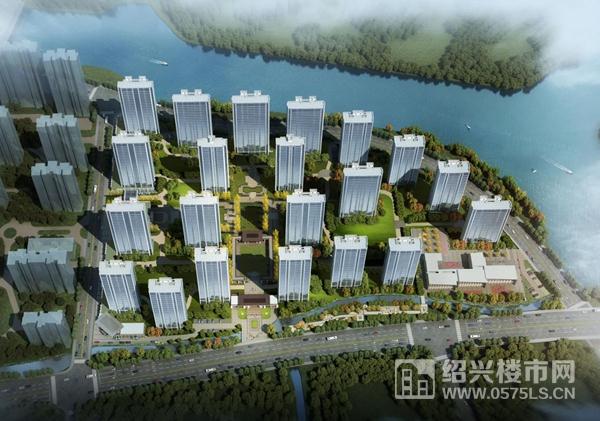 武汉地产统建则水牌地块效果图