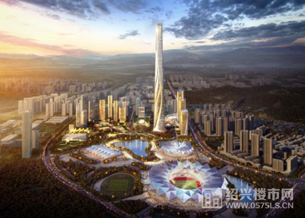 深圳世茂深港国际中心效果图
