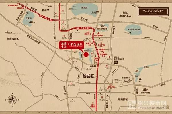 ◆龙湖金茂·镜湖金茂逸墅区位图