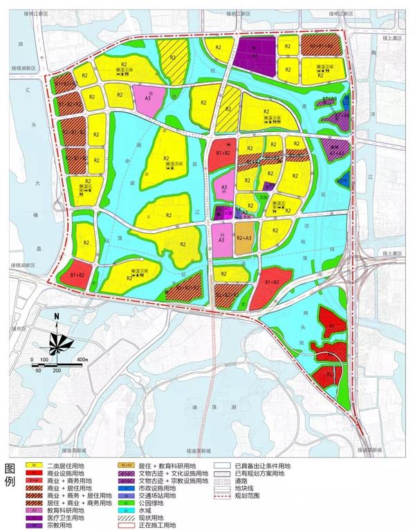 越城区DHP-01控规单元控制性详细规划
