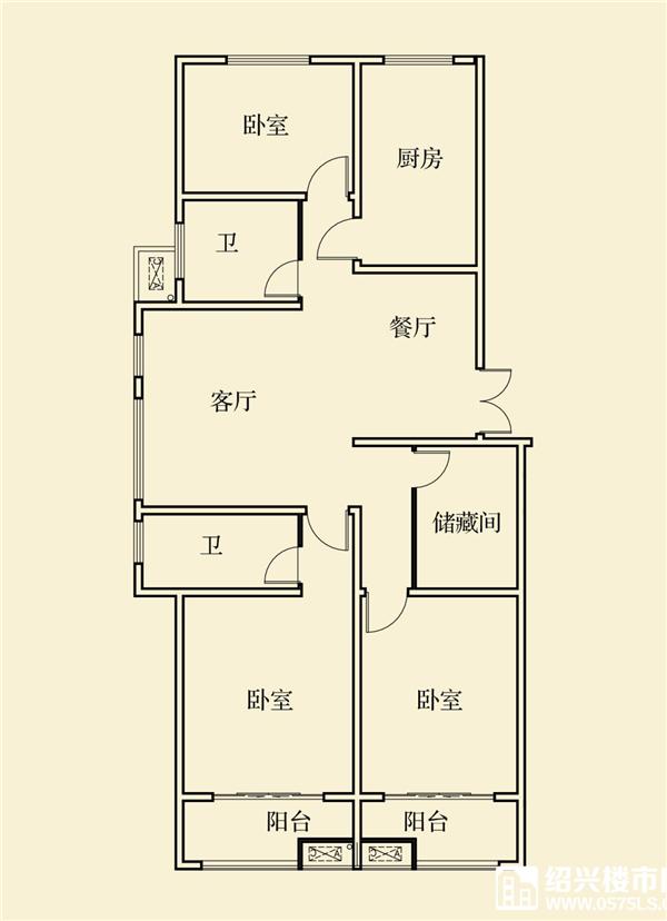 建面約162㎡戶型圖