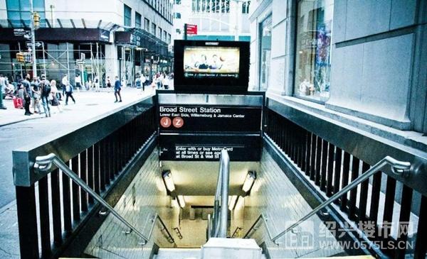 地铁口示意图  来源网络