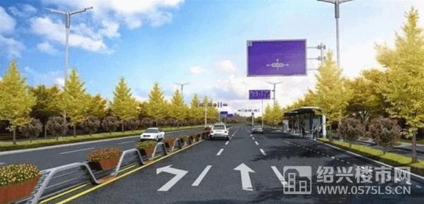 城南大道改造效果图   来源网络