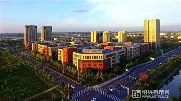 ▲科技创业园(李顶辉摄/图源:绍兴大城市建设规划公众号)
