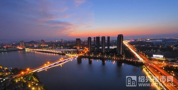 镜湖新区网络图