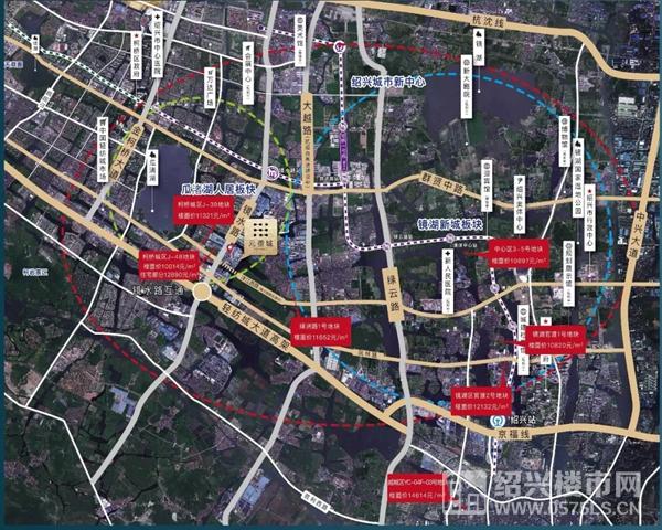 ▲元壟城區位圖