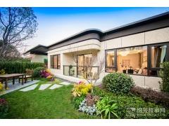 建面约142�O:庭院