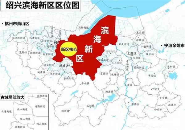 ▲滨海新区区位图(图源:网络)