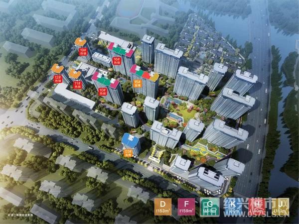 中国铁建花语江南J户型所在楼栋
