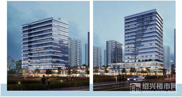 ◎图为创新中心(左)、星级酒店(右)规划示意图