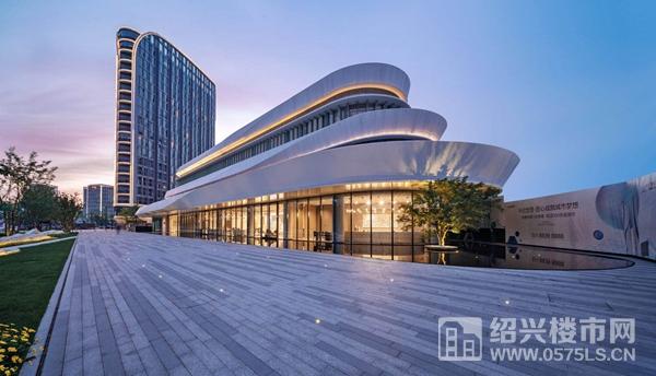 杭州世茂智慧之门示范区实景图