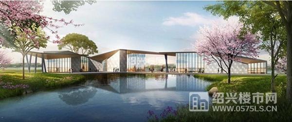 镜湖直江沿河景观带效果图